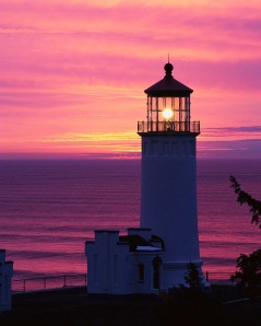 Lighthouse at Twilight